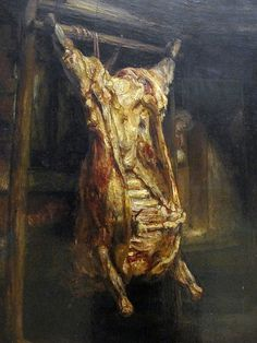 Rembrandt, Bue Squartato (1655)