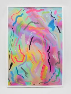 Jennifer Mehigan painting #mehigan #design #fluoro #jennifer #paint #painting #art #colour