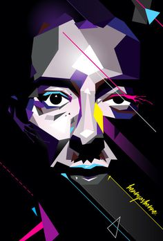 Thom Yorke #vector #thom #henryosborne #design #illustration #art #music #yorke