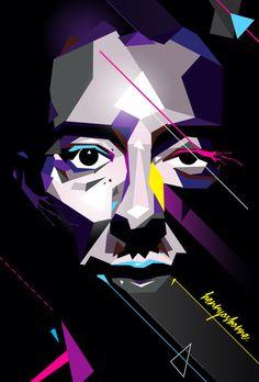 Thom Yorke #vector #thom #henryosborne #design #illustration #art #music #yorke