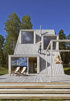 Summer House in Dalarna #design #architecture #minimal