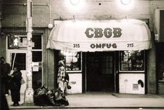 Burning Down the House: The Story of CBGB | FNG magazine #cbgb