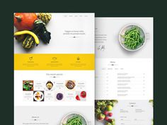 Veggie is a simple and clean #template specially made for #food related websites.
