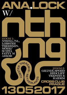 ANA.LOCK w/ NTHNG (Lobster Theremin/NL), Cross club, PRG