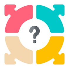 See more icon inspiration related to question, request, work, teamwork, group, business and finance, question mark, choose, directions, options, communications, numbers, networking, business, people and arrows on Flaticon.