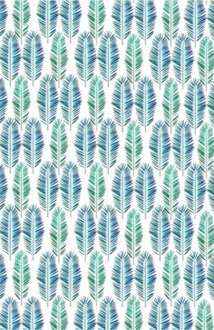 """Tropical Leaves"" #tropical #pattern #design #decor #home #curtains #pillows #leaves"