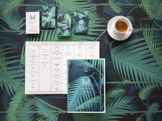 Matamata #menu #identity #food #print #france