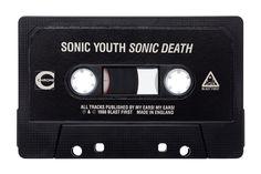 Julien Roubinet - Cassette - Sonic Death by Sonic Youth #sonicyouth #cassette #vintage #julienroubinet