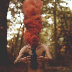 Smoke Bomb Photography #photography #bomb #smoke #portrait