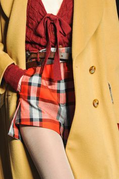 Vivienne Westwood Red Label f/w 2014 #fashion #viviennewestwood #details