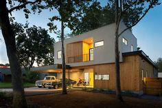 TreeHouse by Matt Fajkus Architecture - www.homeworlddesign. com (18) (Custom) #architecture #texas