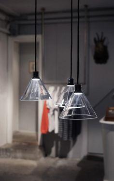Cone Lamp #interior #creative #inspiration #amazing #modern #design #decor #home #ideas #furniture #architecture #art #decorating #innovative #decoration #cool