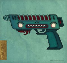 The Dragon Ray - Jay Rogers #dragon #fantasy #weapon #pistol #gun