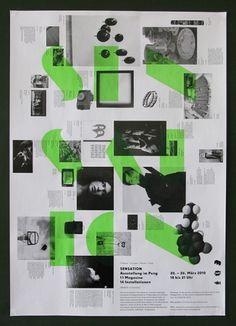 Spezial – Indexhibit: Martha Richter | Temp Magazin #layout #design #poster
