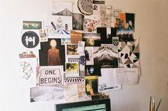 Freunde von Freunden — Sharlene Garcia — Visual Artist, Home, La Libertad, Tijuana — http://www.freundevonfreunden.com/interviews/shar #inspiration #pinboard #moodboard #wall #studio