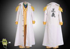 One Piece Admiral Kizaru Borsalino Cosplay Costume Marine Coat #kizaru #costume #borsalino #cosplay