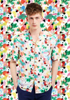 Int_mikeperry #t #pattern #camouflage #shirt