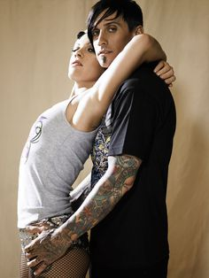 Pink and Carey Hart x FHM | Ink Butter™ | Tattoo Aftercare #photography #tattoo #celebrity