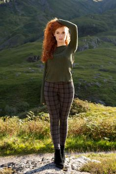 Kirstie In The Scottish Highlands Of Glencoe