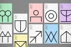 Davide Di Gennaro's symbol-heavy design workshop identity.