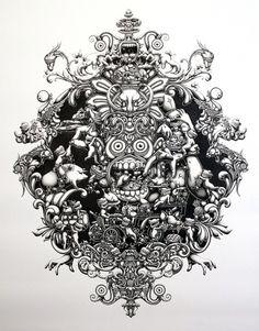 The Joyriders - 2011 on the Behance Network #illustration