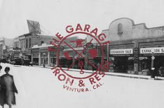 The Garage | www.ironandresin.com #type
