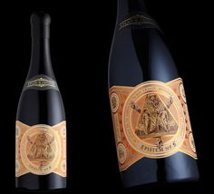 Stranger and stranger via www.mr-cup.com #packaging #illustration #wine
