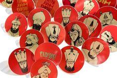 BADGES. #illustration #badge #kafa #ottoman