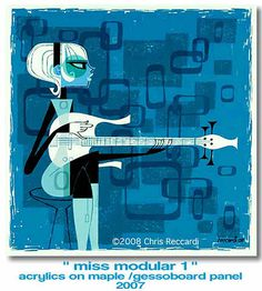 missmod1.jpg #music #illustration