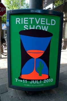 All sizes | Rietveld Show | Flickr - Photo Sharing! #print #design #graphic #rietveld #poster