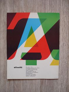 Graphis 115 –– 1964 on Flickr - Photo Sharing! #type #overlay