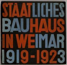 Bauhaus - Monoskop, Typography, Print,