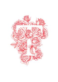Roses Are Read gregcoulton.com #type #floral #flowers #roses