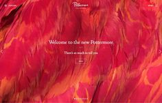 Pottermore, inspiration N°404 published on The Gallery in date September 24th, 2015. #website