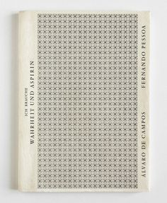 A Good Book #typography #book #publication #cover #pattern