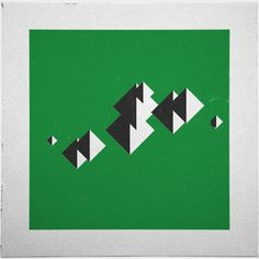 Geometry Daily #geometry #invasion #geometric #simple #square #minimal #poster #art