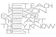If the solution isn't beautiful, you know it's wrong - but does it float #typography