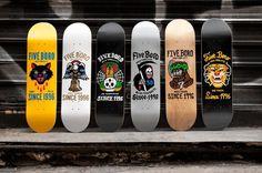 5BORONYC_5Bit_Series_Set_Lookbook #skateboards #5boro