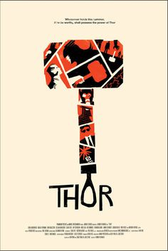thor poster #movie #cinema #poster design