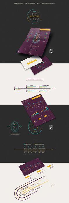 Vibrant infographics