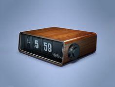 Clock_01.jpg (530×400) #clock #retro #flip