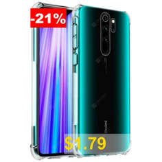 Naxtop #Reinforced #Corners #Ultra-Slim #TPU #Silicone #Soft #Shockproof #Phone #Case #for #Xiaomi #Redmi #Note #8 #Pro #/ #Note #8 #/ #K20 #Pro #/ #K20 #/ #Note #7 #Pro #/ #Note #7 #/ #7A #- #TRANSPARENT