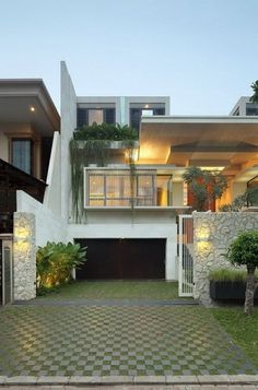 Imposing Modern Residence in Jakarta: Static House | Freshome #residence #architecture #house #modern