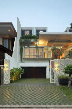 Imposing Modern Residence in Jakarta: Static House | Freshome