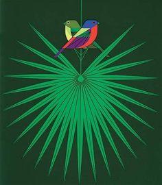 charley+harper+green.jpg (400×458) #charley #illustration #harper #bird
