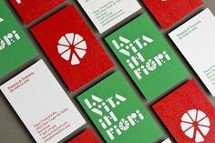 La vita in fiori business cards by Lo Siento Studio. #business #vita #siento #fiori #la #studio #cards #lo