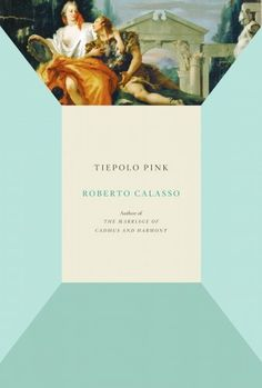 Tiepolo Pink #cover #layout #book