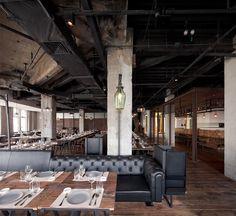 Restaurant at the Industrial Hub