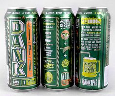 Dank IPA Cans #packaging #beer #can #label