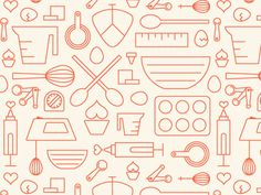 Dribbble buttercupfactory #icon #pattern